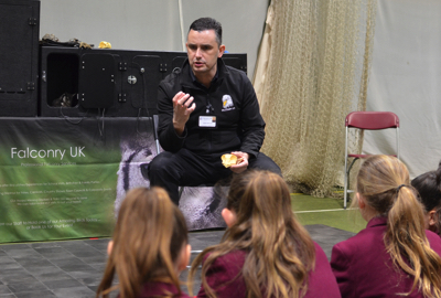 falconry uk school talk